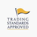 An image of the Trading Standards Approved logo to show that A&J Painters and Decorators are approved.